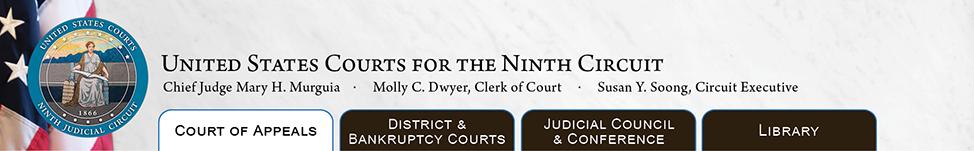 Ninth Circuit Appeals Court Logo